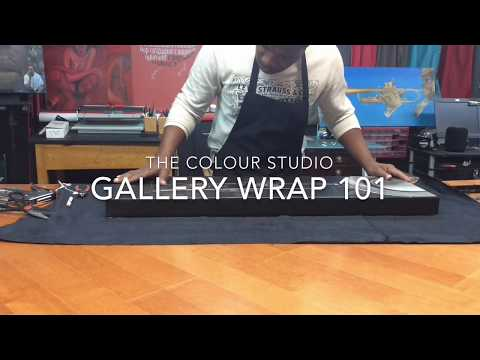 Displaying Art: Consider a Gallery Wrap