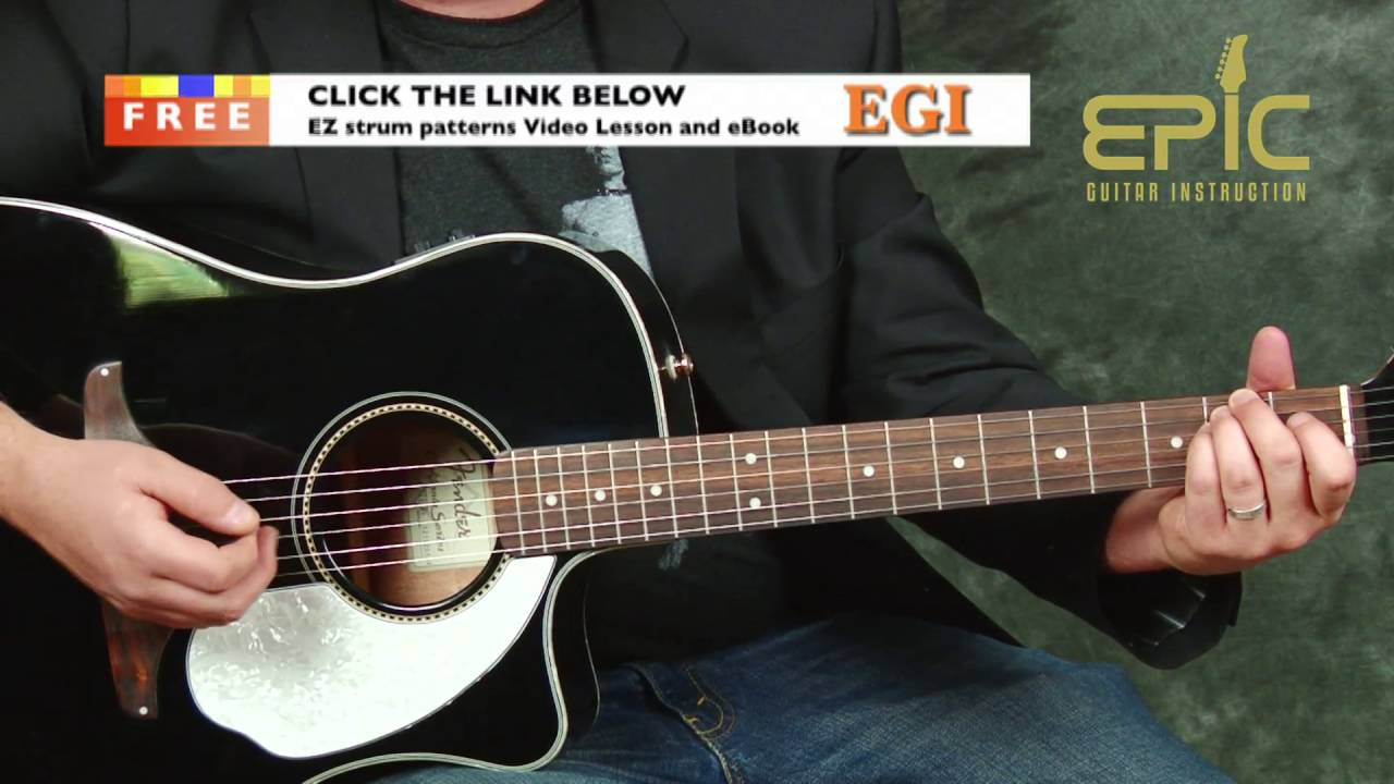 Learn Hey You Pink Floyd Ez Beginner Acoustic Guitar Song Lesson