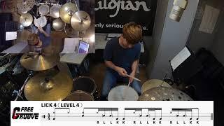 [FREE GROOVE LESSON] Unique 32beat Hat+Snare(Grace Note) Sound