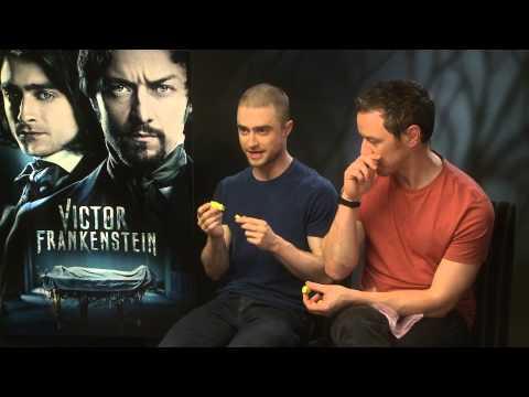 Daniel Radcliffe and James McAvoy - Victor Frankenstein Interview
