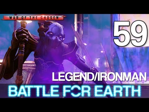 59 Battle For Earth Let's Play XCOM 2: War of the Chosen w GaLm  LegendIronman