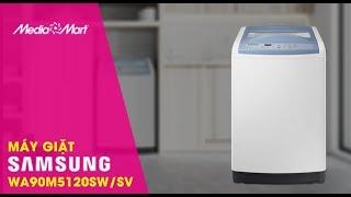 Máy giặt Samsung WA90M5120SW/SV lồng đứng