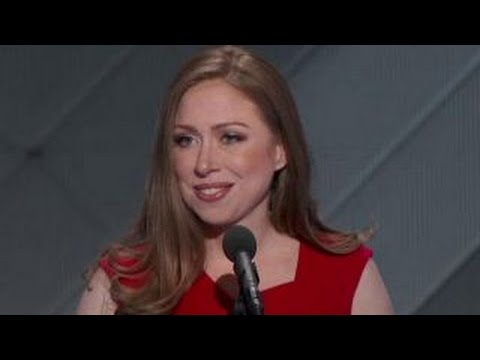 Full speech: Chelsea Clinton at Democratic convention
