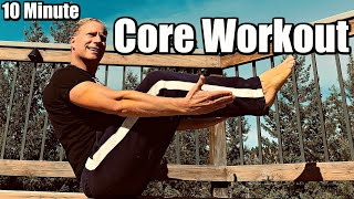 10 Min Killer Core Workout For Abs and a Six Pack   Sean Vigue Fitness