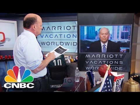 Marriott Vacations Worldwide CEO Doug: Stock Discount? | Mad Money | CNBC