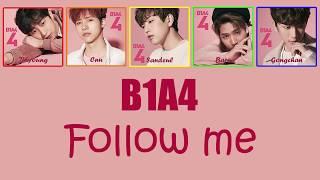 [SUB Kor/Jap]B1A4 -  Follow Me Lyrics