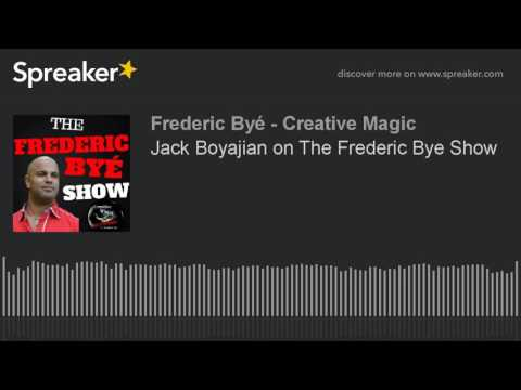 Jack Boyajian on The Frederic Bye Show