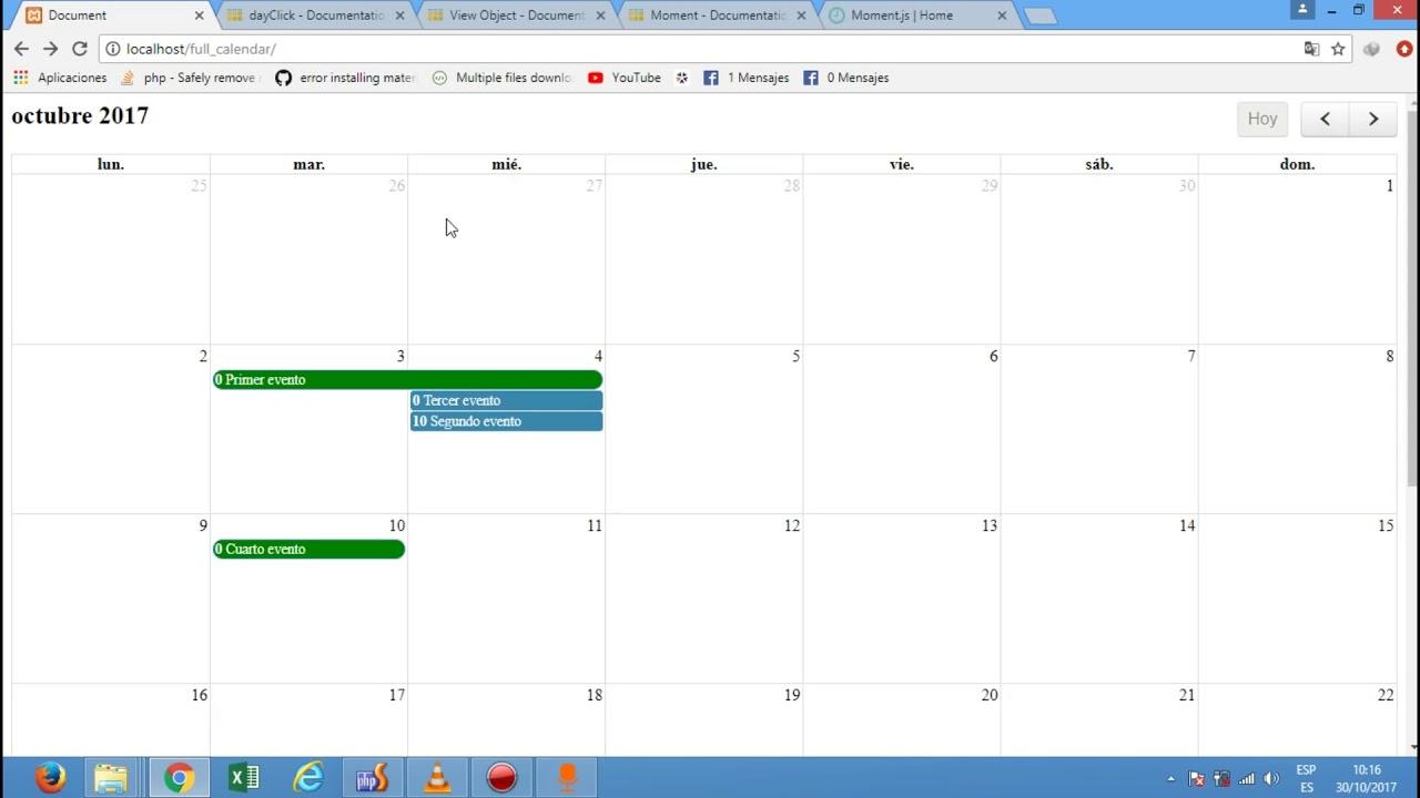 06 - Full Calendar, DayClick