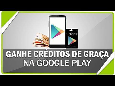 Como ganhar créditos na Google Play #2