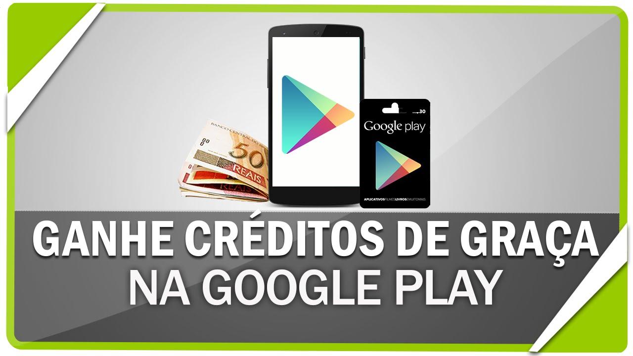 Como ganhar créditos na Google Play #2 - YouTube