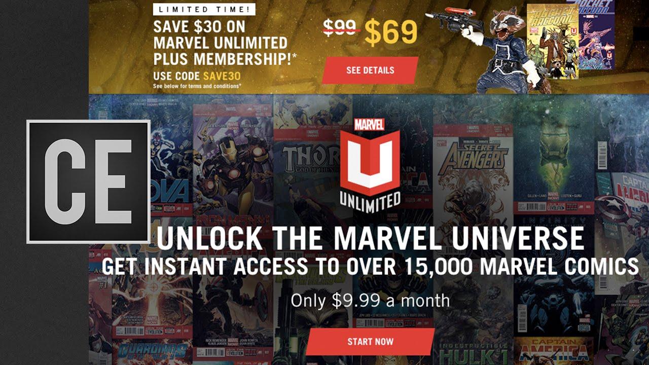 Marvel Unlimited Explained - YouTube