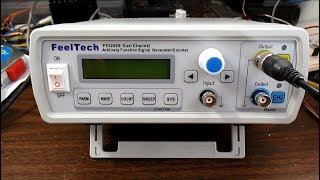 feelTech FY3200S arbitrary function signal generator test & review