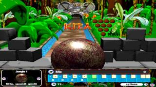 Gutterball 2 Gameplay - Jungle Alley