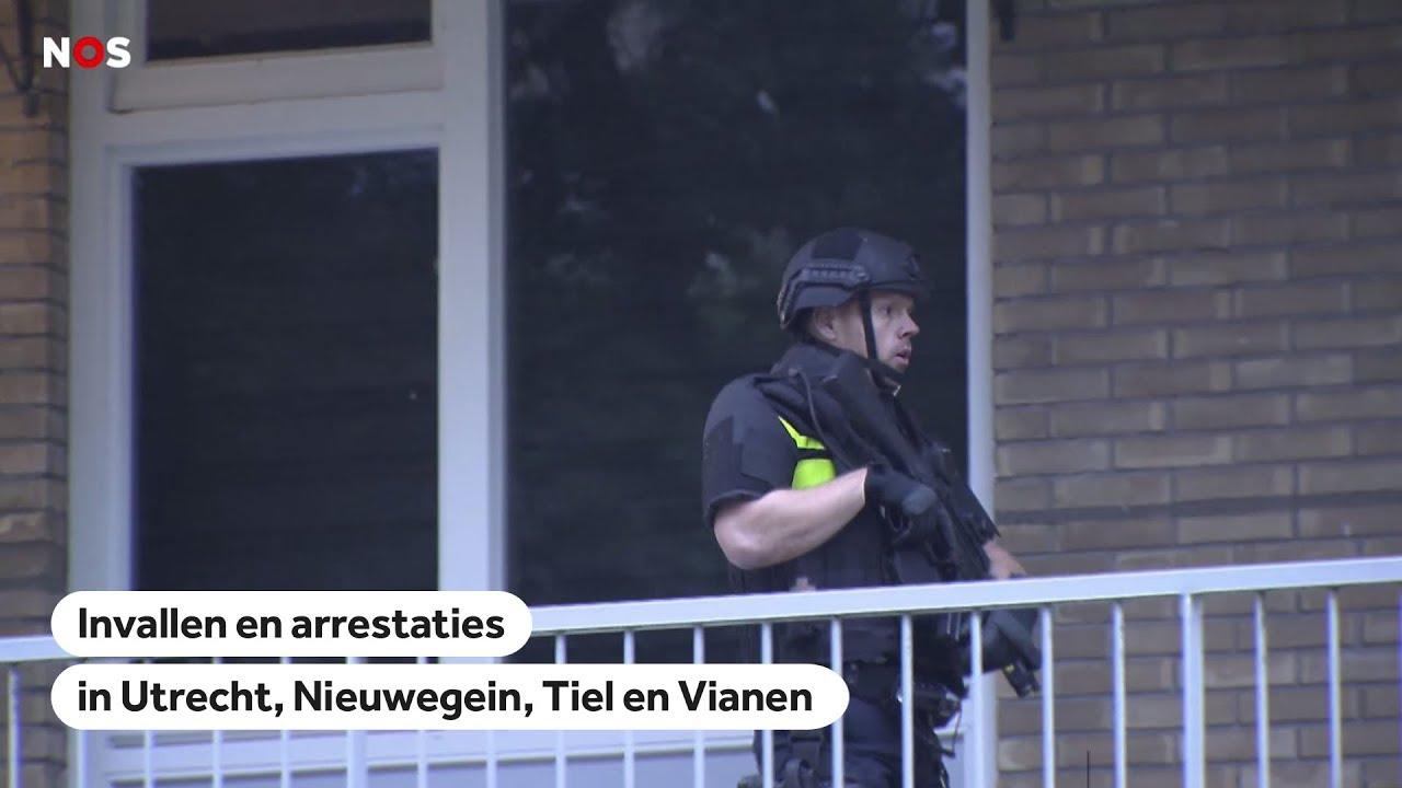 Politie Invallen En Arrestaties In Utrecht Vianen Nieuwegein En