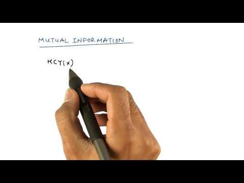 Mutual Information - Georgia Tech - Machine Learning