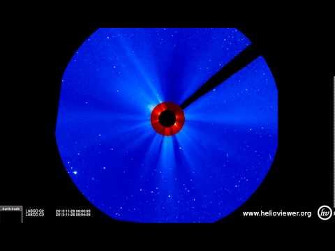 LASCO C2/C3 (2013-11-25 19:12:06 - 2013-11-26 16:24:05 UTC)
