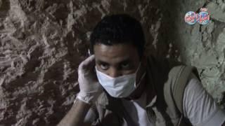 أخبار اليوم | لحظات استخراج موميات مقبرة اوسرحات تكشف عن أمراض الفراعنة