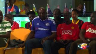 FRED AMATA VS SEGUN ARINZE Celebrity Fans Challenge 2015