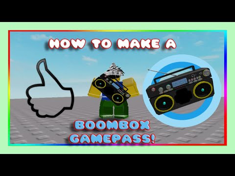 Download How To Make A Radio Game Pass Roblox Studio MP3, MKV, MP4