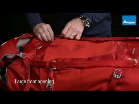 Bergans Trollhetta 95L, GreenGreen Stor tursekk som takler