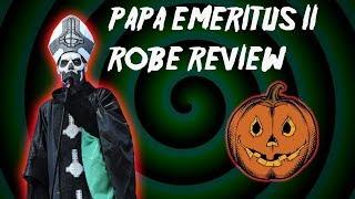 GHOST PAPA EMERITUS II COSTUME REVIEW! TRICK OR TREAT STUDIOS