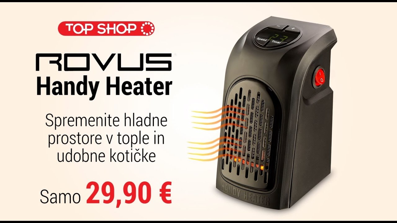grelec rovus handy heater youtube