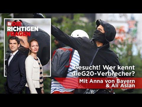 """Gesucht! Wer kennt die G20-Verbrecher? BILD stellt """"Die richtigen Fragen""""!"""