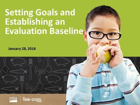Planning for Farm to School Success - Setting goals and Establishing an Evaluation Basel