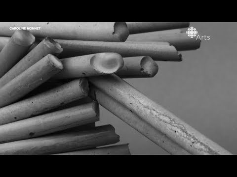 Artist uses concrete and copper to represent Indigenous resilience