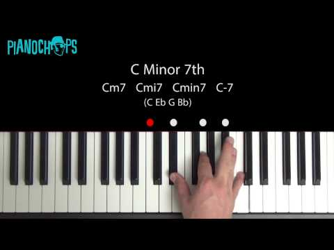 Cm7 Piano Chord Chordsscales