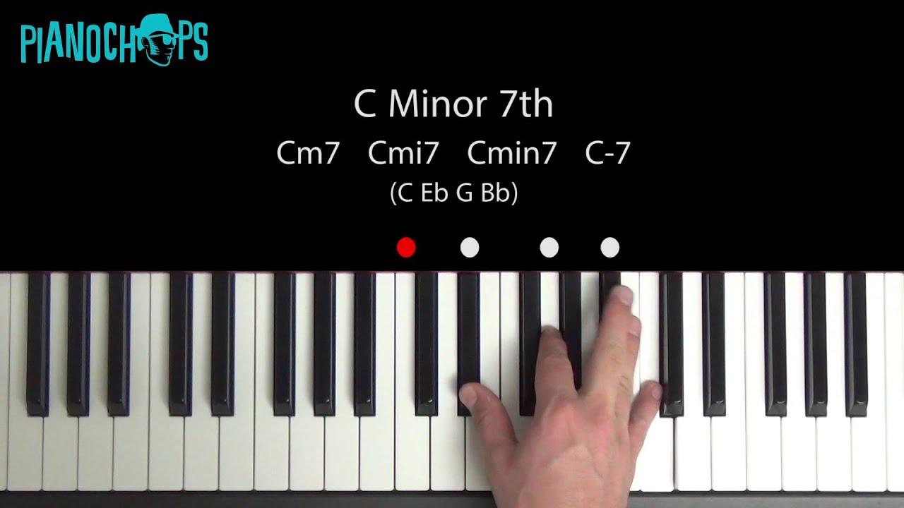 C minor 7 cm7 piano youtube c minor 7 cm7 piano hexwebz Gallery