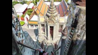 Visiting Wat Arun, the temple of Dawn, Bangkok Thailand