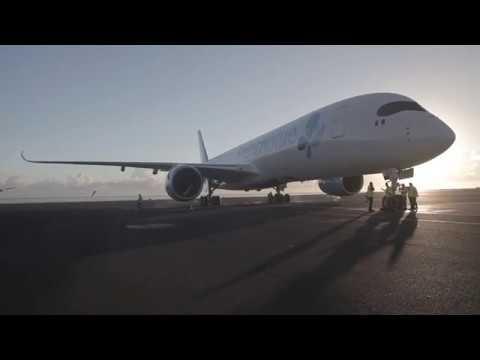 French Blue - Découvrez l'Airbus A350 de French blue - Episode 6