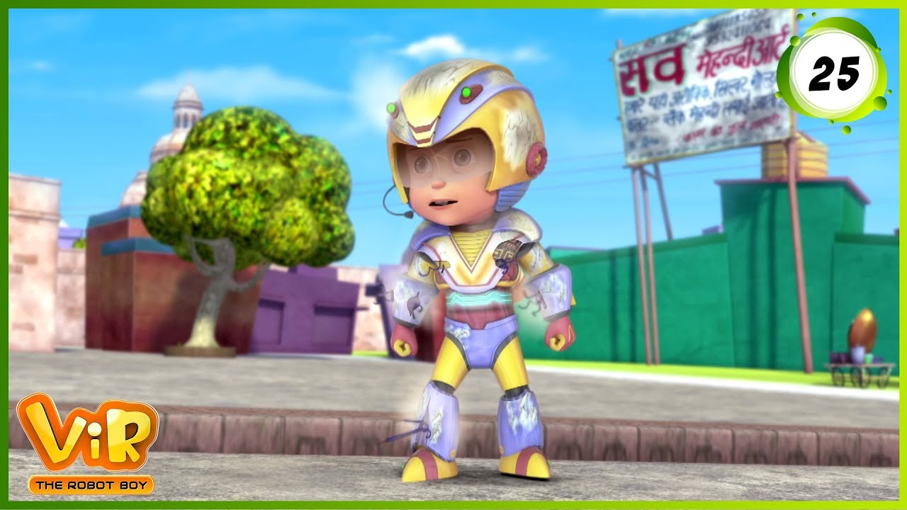 Download Vir: The Robot Boy | Vir Vs Dangerous Seven Part 2 | Action Show for Kids | 3D cartoons