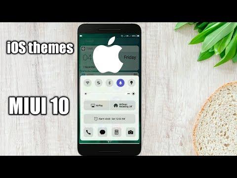 Perfect iOs 11 Theme For MIUI 10 redmi note 5 pro