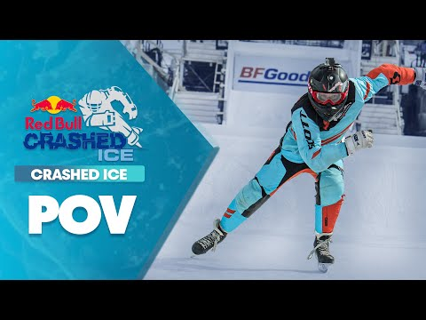 GoPro View: Claudio Caluori Takes on Crashed Ice Vet. Reed Whiting in Marseille