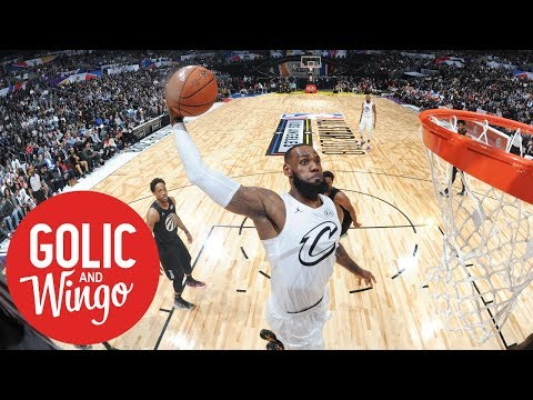NBA All-Star Game takes slight dip in ratings | Golic and Wingo | ESPN