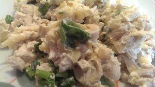 Фото-рецепт сытного салата