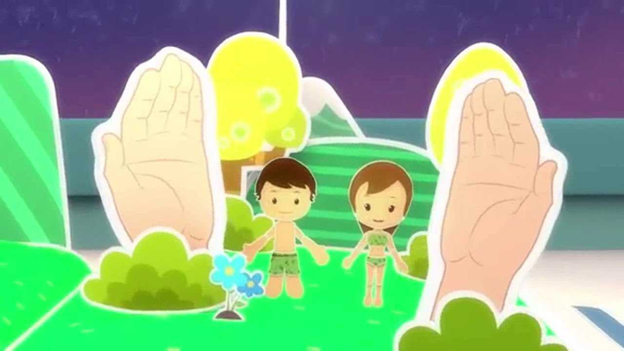 Dios De La Creación Pequeños Héroes Canción Infantil1 Youtube
