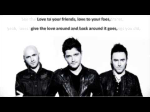 The Script - Give The Love Around (lyrics)