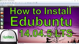 how to Install Edubuntu 14.04 LTS  VMware Tools on VMware Workstation/Player Easy Tutorial HD