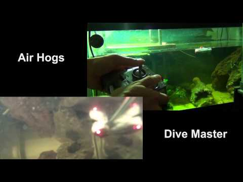 RC Submarine Review! Air Hogs Dive Master