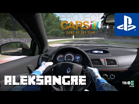 Project cars GOTY PS4 - Renault Megane - Gameplay español HD - Aleksangre