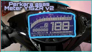 Download V#11 Fungsi Meter Y15ZR V2 Yang Perlu Kita Tahu