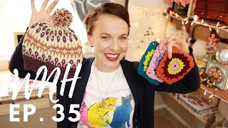 """Knitting Podcast-Ep. 35 """"Your Eyelets are Off-Kilter"""""""