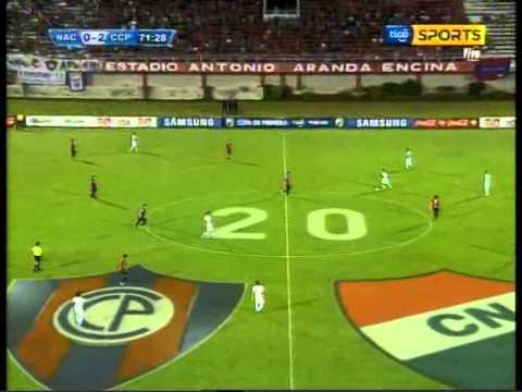 CLUB NACIONAL DE ASUNCION vs CERRO PORTENO 0-3 08-03-2014