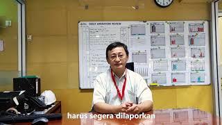Safety Brief dari Bpk. Thang Le