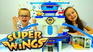 Видео про игрушки. Распаковка СУПЕР КРЫЛЬЯ. Игры в самолетики