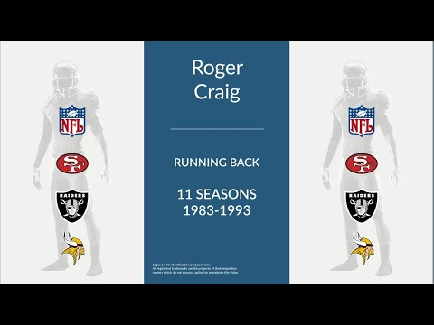 Roger Craig: Football Running Back
