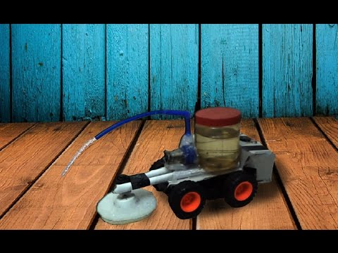 HOW TO MAKE FLOOR CLEANER ROBOT